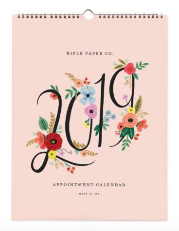 2019 Bouquet Kalender