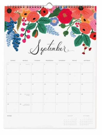 2019 Bouquet Kalender 10