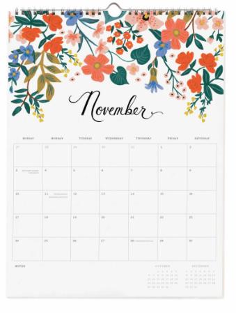 2019 Bouquet Kalender 12