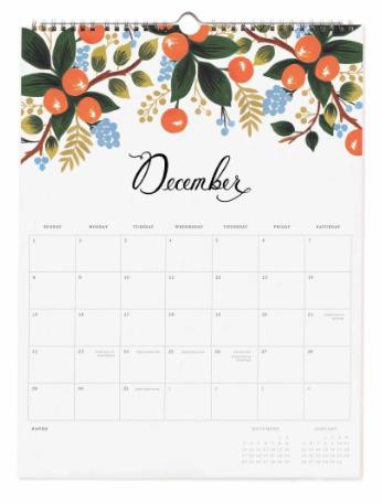 2019 Bouquet Kalender 13