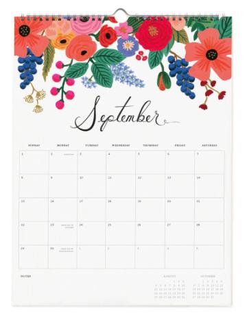 2019 Bouquet Kalender 2