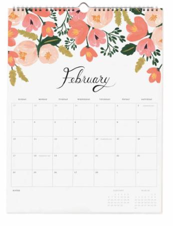 2019 Bouquet Kalender 3