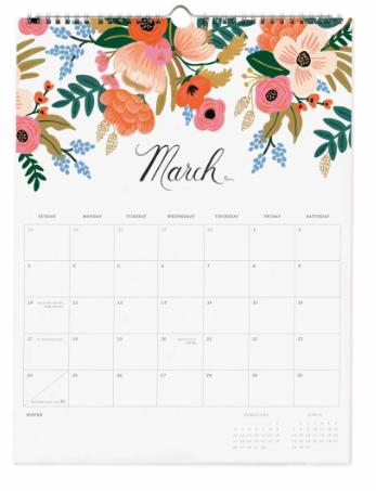 2019 Bouquet Kalender 4