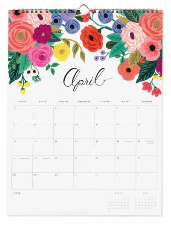 2019 Bouquet Kalender 5