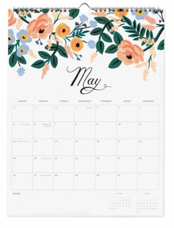 2019 Bouquet Kalender 6