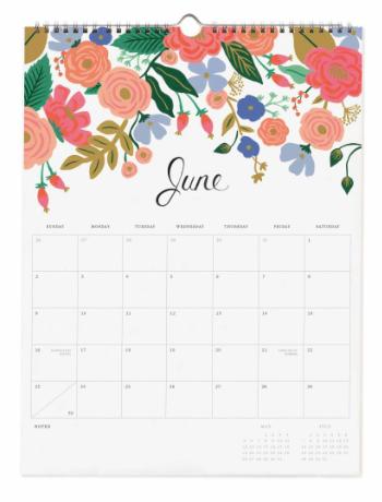 2019 Bouquet Kalender 7