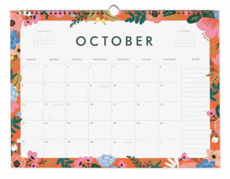 2019 Garden Party Kalender 11