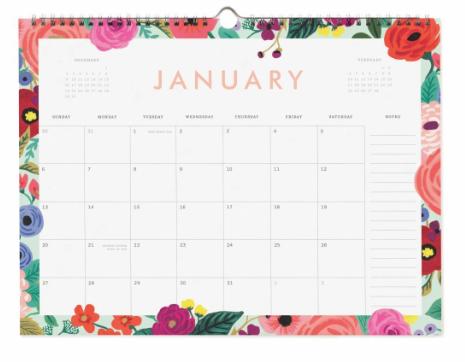 2019 Garden Party Kalender 2
