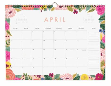 2019 Garden Party Kalender 5