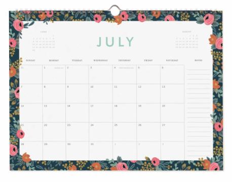 2019 Garden Party Kalender 8