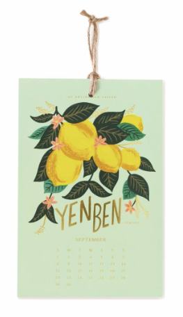 2019 Lemon Kalender 9