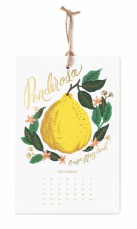 2019 Lemon Kalender 12