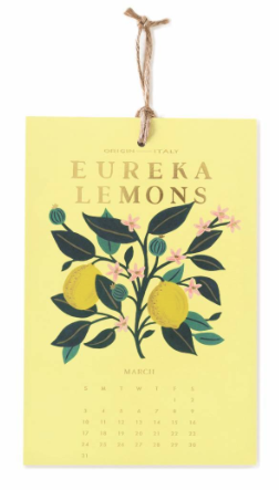 2019 Lemon Kalender 4