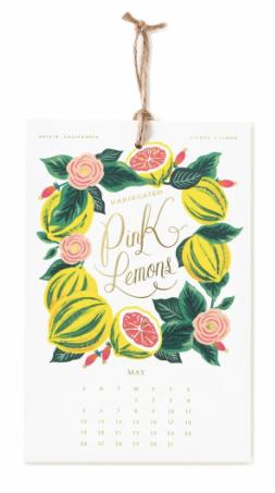 2019 Lemon Kalender 5