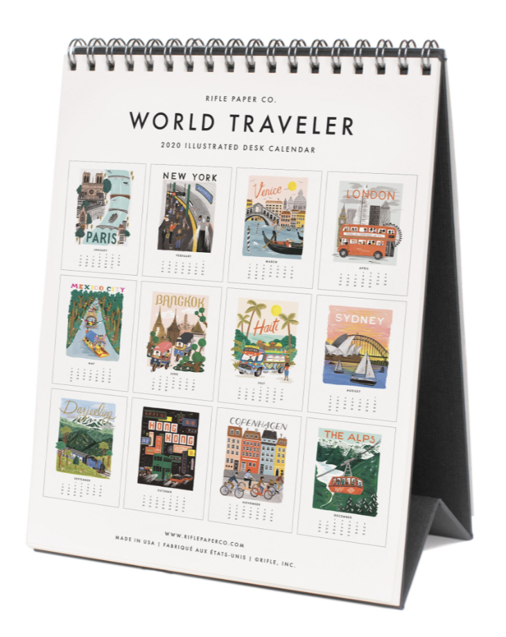 2020 World Traveler Calendar - 14