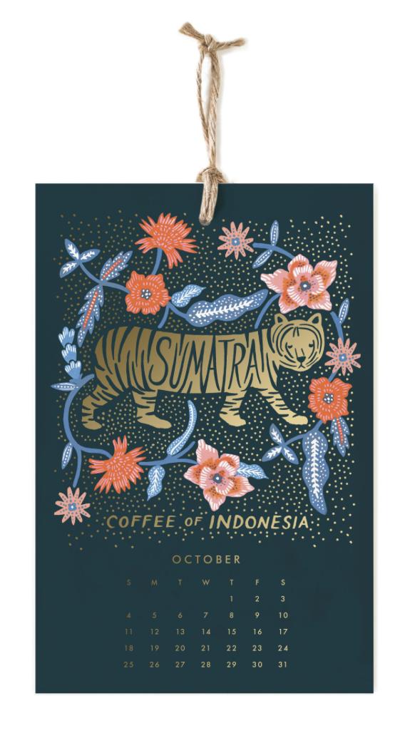 2020 Coffee & Tea Calendar 11