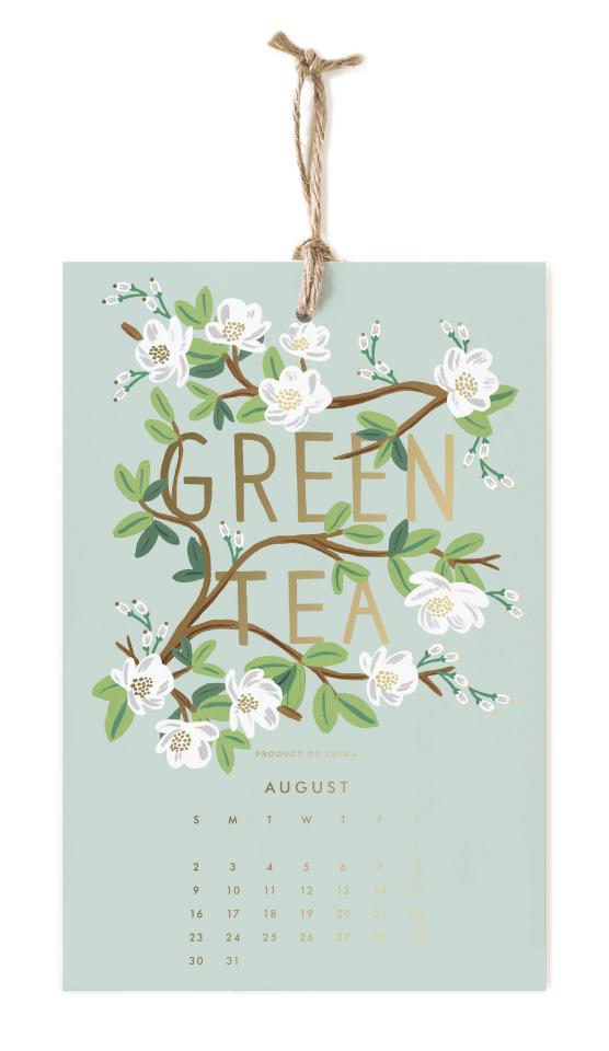 2020 Coffee & Tea Calendar - 9