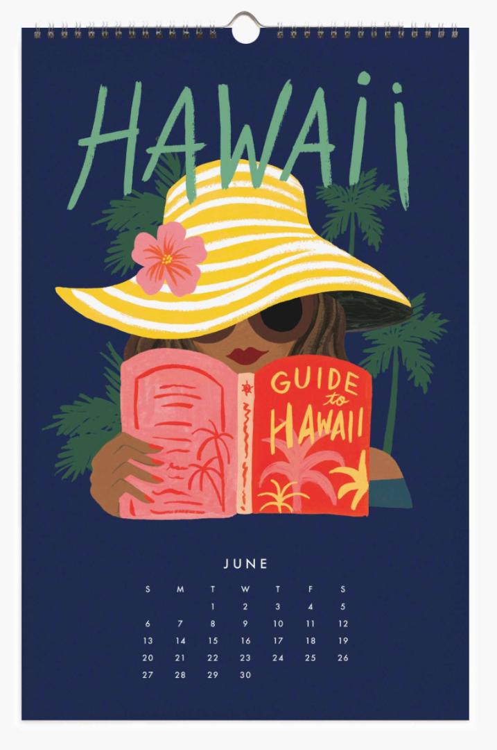 2021 Explore The World Calendar 7