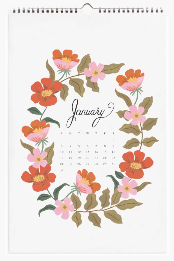 2021 Wild Garden Calendar 2