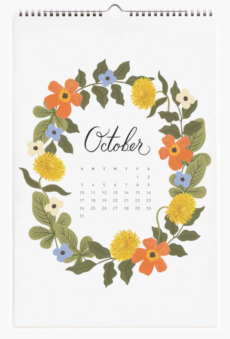 2021 Wild Garden Calendar 11