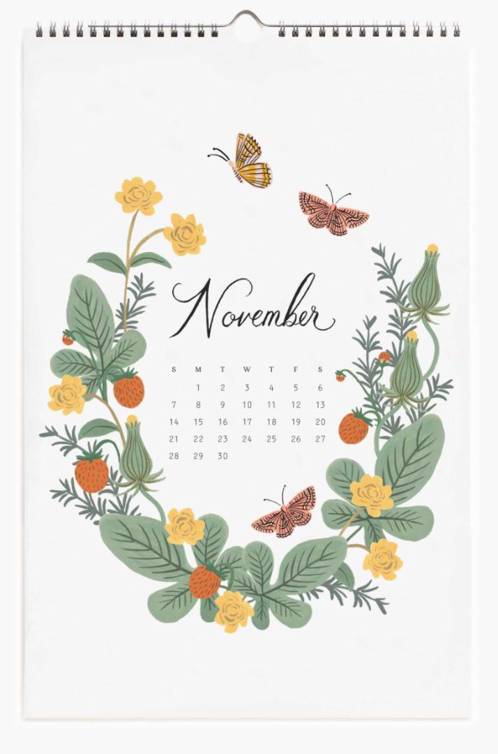 2021 Wild Garden Calendar 12