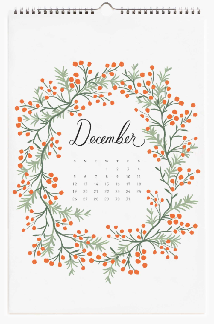 2021 Wild Garden Calendar 13