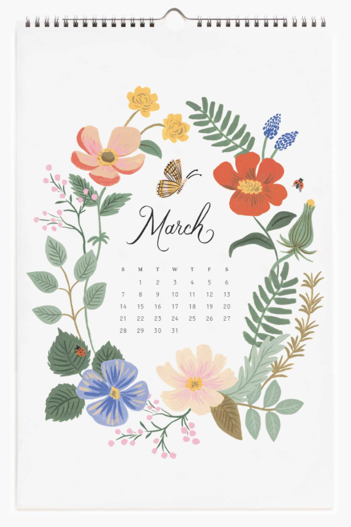 2021 Wild Garden Calendar 4
