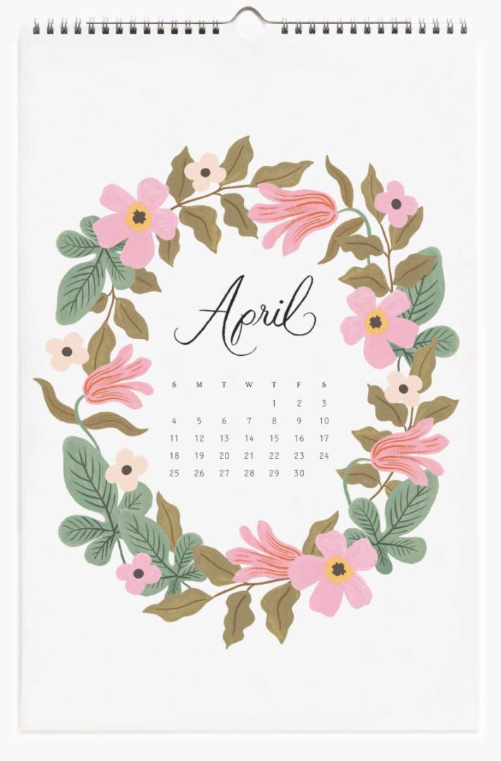 2021 Wild Garden Calendar 5