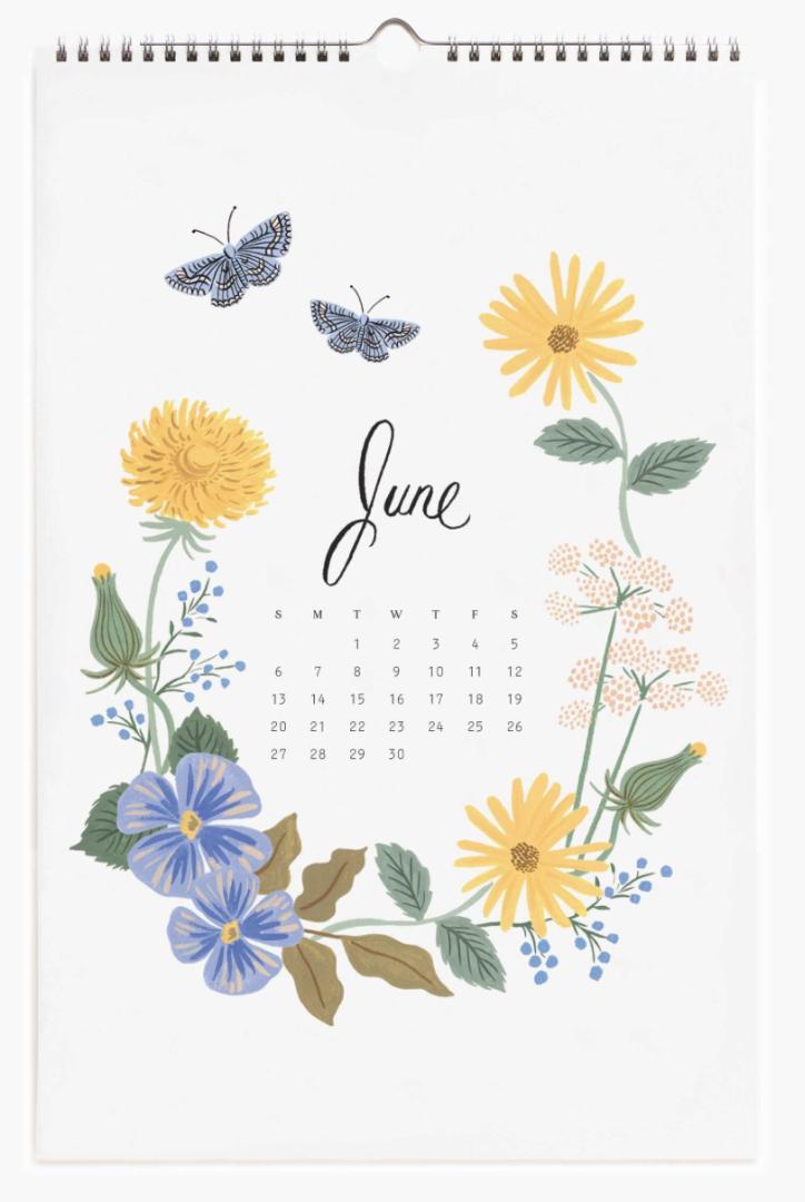2021 Wild Garden Calendar 7