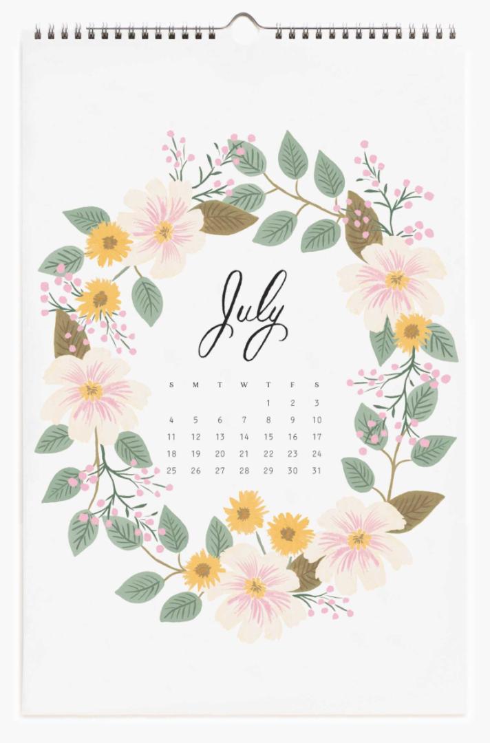 2021 Wild Garden Calendar 8