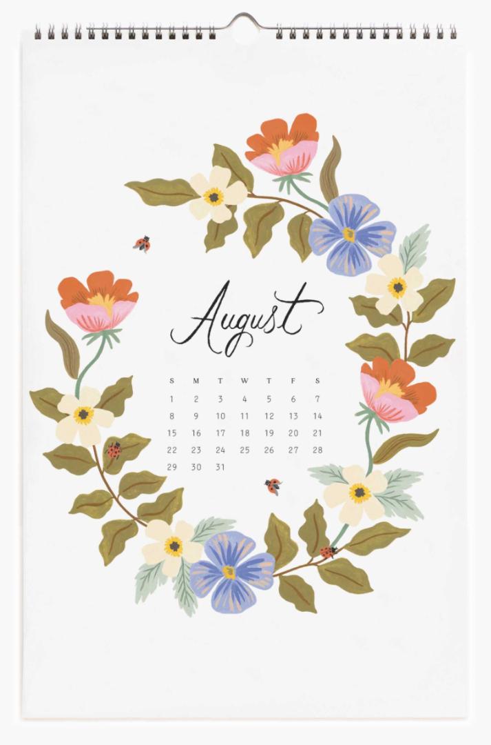 2021 Wild Garden Calendar 9