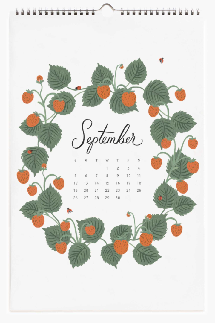 2021 Wild Garden Calendar 10