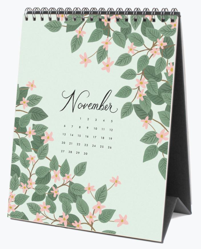 2022 Wild Garden Calendar 12