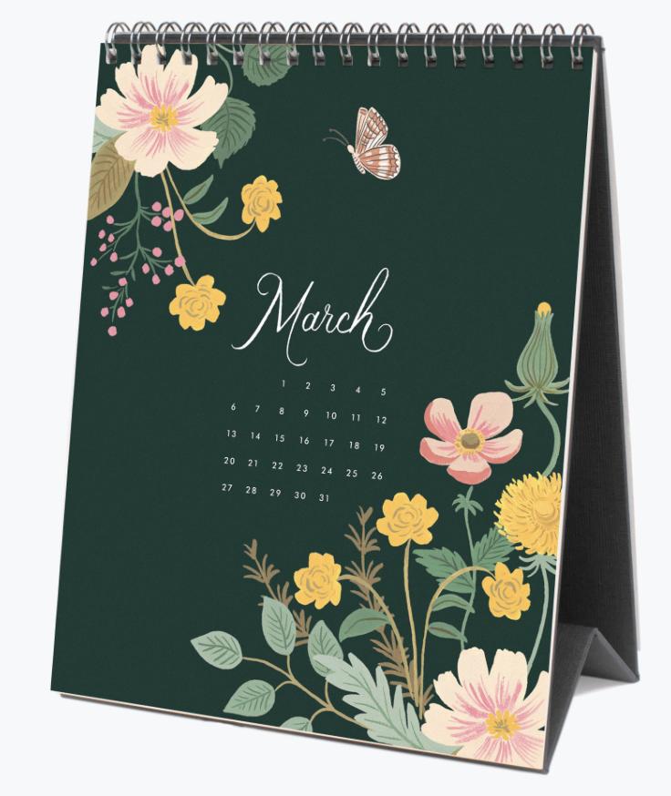 2022 Wild Garden Calendar 4