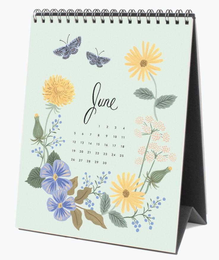 2022 Wild Garden Calendar 7