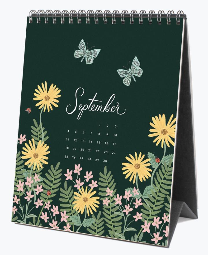 2022 Wild Garden Calendar 10