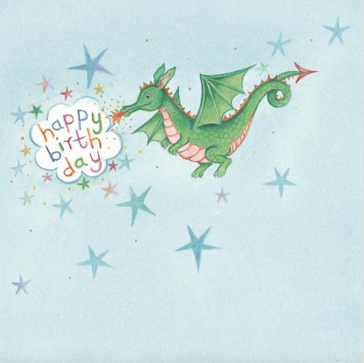 Magic Dragon Card
