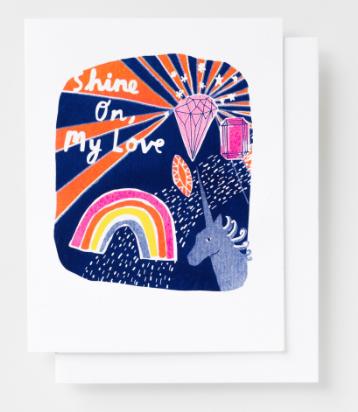Shine On My Love Card