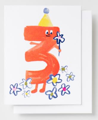 Birthday 3 Card