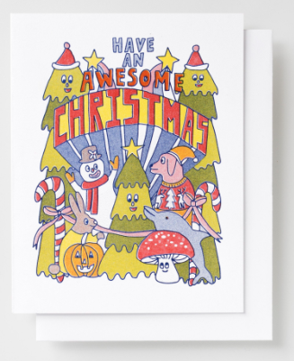 Awesome Christmas Card