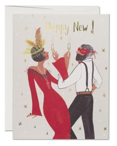 Gatsby New Year Card