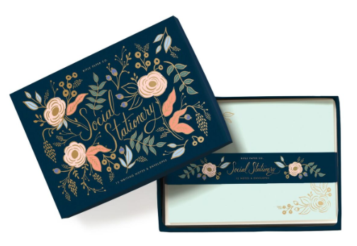 Collette Social Stationery