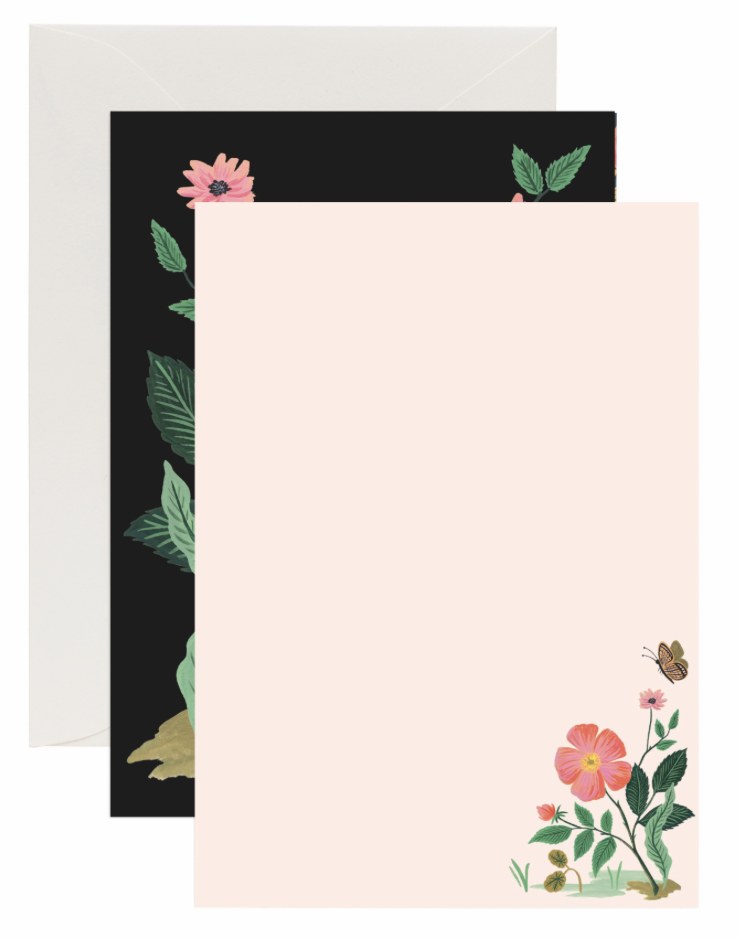 Botanical Social Stationery 5