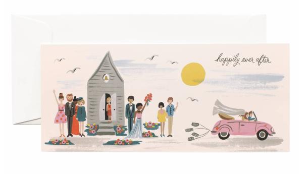 Wedding Send - Off Long Card