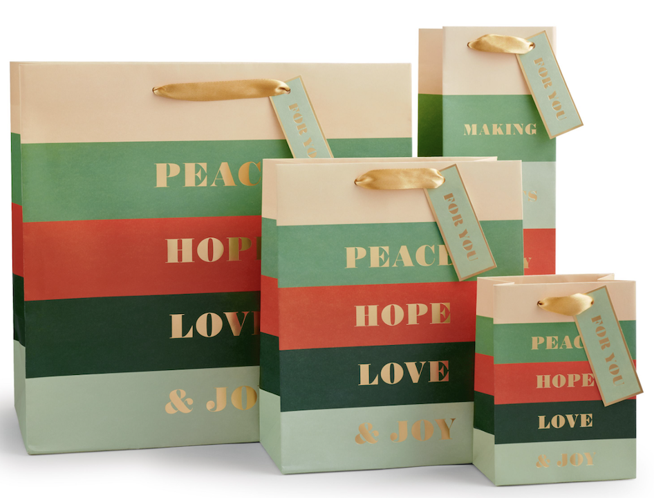 Peace & Joy Bags