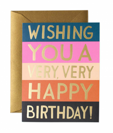 Color Block Birthday
