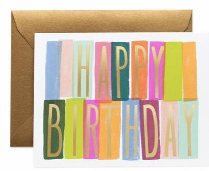 Mérida Birthday Card