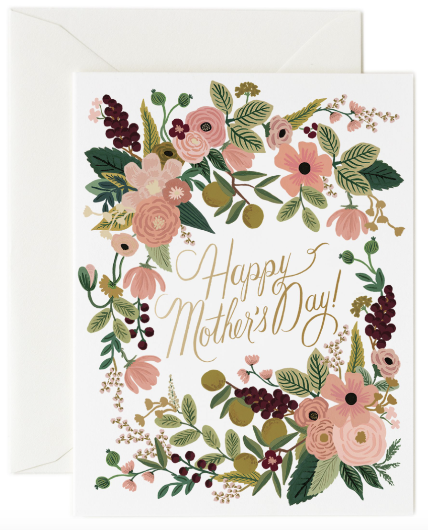 Garden Party M-day Card