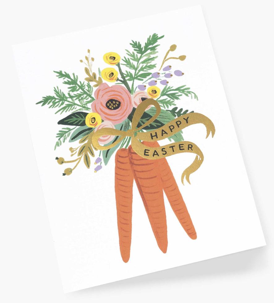 Carrot Bouquet Card 2
