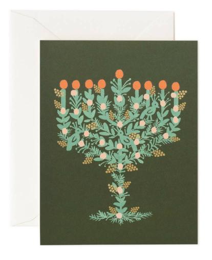 Illustrated Menotah Card
